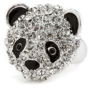 Polly the Panda Stretch Ring